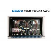 Buy cheap 40  Channels Arrayed Waveguide Grating Passive Optical Network Rackmount Module from wholesalers