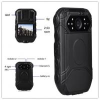 Buy cheap Portable Police Wearing Body Cameras Ambarella A7 2 Inch TFT LCD Color Display from wholesalers