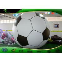 Buy cheap 3m Giant PVC Inflatable Football Balls / Soccer Balloon For Advertising from wholesalers
