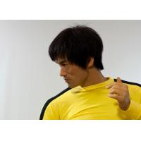 Buy cheap Life Size Silicone Museum Wax Figures ,  Bruce Lee Wax Figure from wholesalers