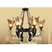 Buy cheap Foyer / Indoor Wrought Iron , Retro and Traditional Shabby Chic Chandelier from wholesalers