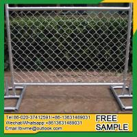 Buy cheap WalnutCreek temporary fence panels hot sale Alturas chain link fence from wholesalers