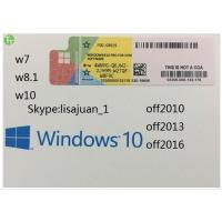 Buy cheap Windows Server Software Win 10 Professional OEM Original Key COA Sticker from wholesalers