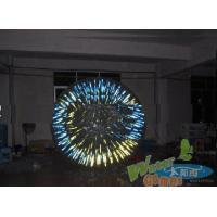 Buy cheap New design inflatable shining zorb ball, glass ball from wholesalers