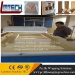 Buy cheap kitchen modern cabinet door vacuum membrane press machine from wholesalers