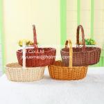 Buy cheap wicker fruit basket willow picnic basket wicker food basket L M S size from wholesalers