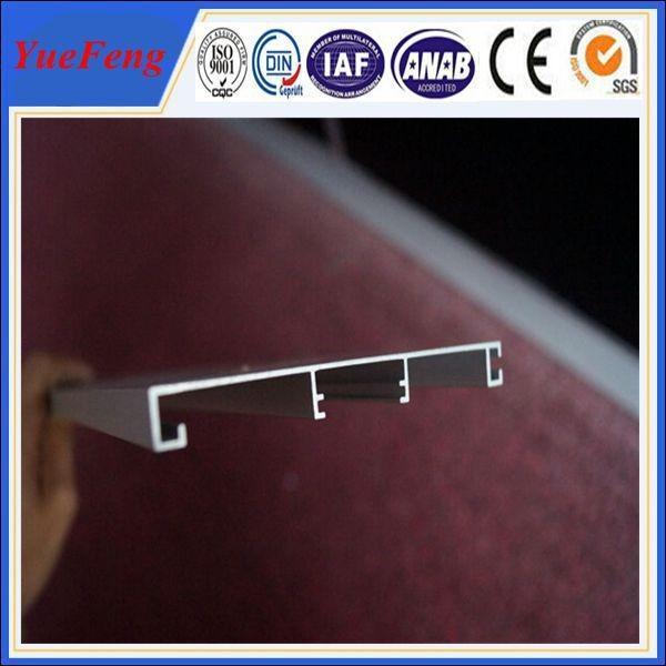 Quality Aluminum Profile Furniture Edge Banding/Metal Edge Furniture Banding for sale