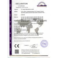 S.L Design & Manufacture Limited Certifications