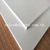 Buy cheap 3 mm Heat Resistant Silicone Rubber Sheet Roll White Food Grade Latex Rubber Material from wholesalers