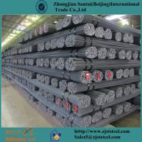 Buy cheap Carbon steel black reinforcing steel rebar iron rod for construction from wholesalers