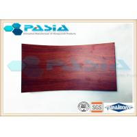 Buy cheap HPL Plate Bonded Honeycomb Wall Panelswith Wood Frame Edge Acid Resistance from wholesalers