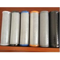 Buy cheap Activated carbon block water filter cartridges from wholesalers