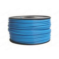 Buy cheap Blue Round 3MM PLA Filament Rapid Prototyping For Cubify UP , 3D Printer Filament product