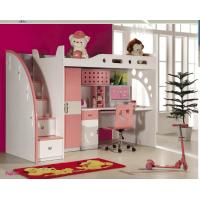 Buy cheap Best sell fuctional bunkbed with desk girls bed  model 8811 from wholesalers