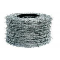 Buy cheap Building Barbed Wire Fence Hot Dipped Galvanized Single Strand Fence Wire from wholesalers