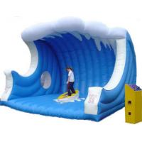 Buy cheap Customized Inflatable Sports Toys , Inflatable Mat with Mechanical Surfboard from wholesalers