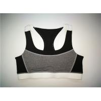 Buy cheap High Impact Ladies Sports Vest Polyester Mesh Combined Wide Elastic Strap And Hem from wholesalers