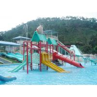 Buy cheap Fiberglass / LLDPE Water Slides , Valves Water Playground Equipment For Water Park from wholesalers