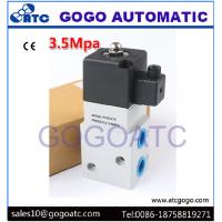 Buy cheap Industrial 3 Way Air Compressor High Pressure Solenoid Air Valve 1/4 1/2 Pipe Size from wholesalers