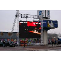 Buy cheap High Intensity Led Video Wall Rental for Advertising P10 / P12 Aluminum structure frame from wholesalers