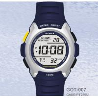 Buy cheap Male Waterproof Digital Self Calibrating Watches With Alarm Count-Down Timer from wholesalers