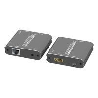 Buy cheap USB power HDMI Extender 60M Over Single CAT5e/6 With EDID 1080P from wholesalers
