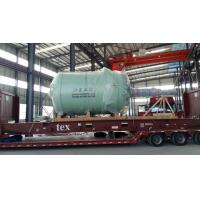 20000L Glass Lined Reactor Close type Pained With 1 Red Base Coat , 1 Grass Green Top Coat