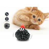 Buy cheap Cute Interactive Cat Bouncy Ball 20-25 cm Length With Eco Friendly Plush Cover product