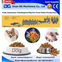 Buy cheap Automatic animal pet dog fish feed pellet making machine floating fish feed maker manufacturer from wholesalers