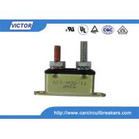 Buy cheap 50A 24V / 12V Circuit Breaker / Stud Type Circuit Breakers For Battery Chargers from wholesalers