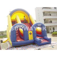 Buy cheap Custom waterproof PVC Commercial Inflatable Slide Rental With Double Lane from wholesalers