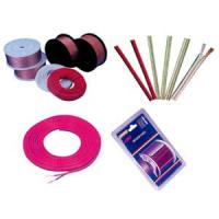 Buy cheap OFC Transparent Electric Wire Cable copper speaker wire Red stripe product