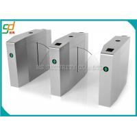Buy cheap Electronic Turnstile Security Gates RS485 Interface Bidirectional Flap Barrier from wholesalers