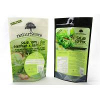 Buy cheap Reusable Smell Proof Stand Up Ziplock Bags , Stand Up Pouches For Food Packaging from wholesalers
