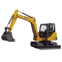 Buy cheap Crawler Mounted Excavator , Mini Digger Excavator With 0.3m3 Excavator Bucket from wholesalers