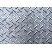 Buy cheap Q235 Diamond Shape Aluminum Safety Grating Anti - Skid Checker Plate Wear Resistance from wholesalers