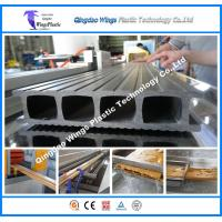 Buy cheap WPC PVC Profiles PE WPC Profiles Outdoor Decking Fence Profile Cross Beam Prfoile Column Profile Extrusion Line from wholesalers