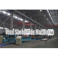 Buy cheap Corrugated Roof Panel Steel Roll Forming Machine Hydraulic Cutting from wholesalers