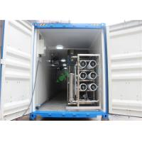 Buy cheap RO UV Water Purifier Water Filter RO Containerized Water Treatment Plant from wholesalers