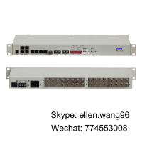 Buy cheap 16E1+ 4GE + RS232 + NMS PDH Multiplexer fiber optical telecom equipment from wholesalers