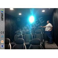 Buy cheap 9 Seats Mobile Movie Theater Black With Metal Flat Screen product