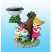 Buy cheap Solar Garden Figurine Lamp (FB-047) from wholesalers