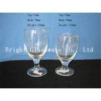Buy cheap clear Water Goblets, wine goblet glass sale from wholesalers