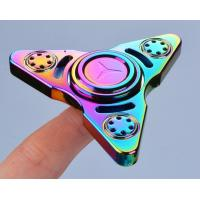 EDC New Colorful Triangle of Russia Finger Spinner hand spinner, decompression Finger Spinner toys factory price