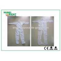 Buy cheap Disposable Coveralls Waterproof Nonwoven SMS MP Safety Working Suit from wholesalers