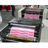 Buy cheap Web Die Punching Machine , Four Color Flexo Printing Machine For Paper Plate from wholesalers