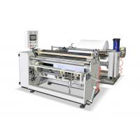 Buy cheap Compact Structure Paper Roll Cutting Machine Jumbo Roll Slitting Machine from wholesalers