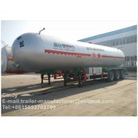 Buy cheap 40000L BPW Double / three axles LPG semi trailer , propane tank trailer from wholesalers