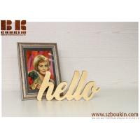 Buy cheap Wooden Sign home decorations Wood Sign Custom Wood Sign Nursery Name Sign Wooden Name Sign from wholesalers