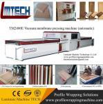Buy cheap wood color pvc antique cabinet door vacuum membrane press machine from wholesalers